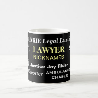 Lawyer Nicknames - The Ultimate Lawyer Mug