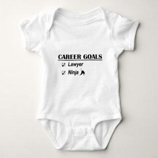 Lawyer Ninja Career Goals T-shirt