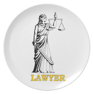 LAWYER PLATE