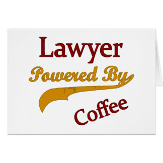 Lawyer Powered  By Coffee Card