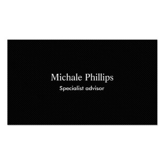 Lawyer - Professional black carbon fiber Business Card