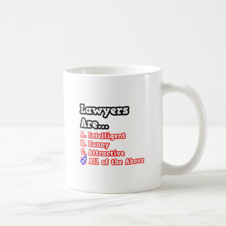 Lawyer Quiz...Joke Coffee Mug