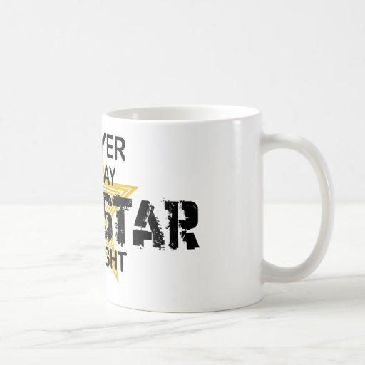 Lawyer Rock Star by Night Coffee Mug