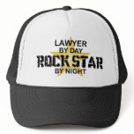 Lawyer Rock Star by Night Trucker Hat