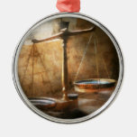 Lawyer - Scale - Balanced law Christmas Ornaments