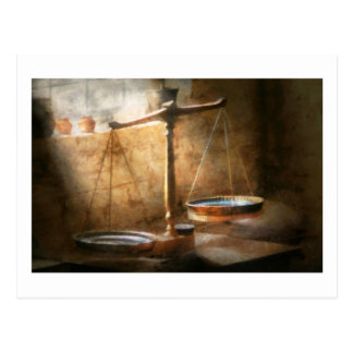 Lawyer - Scale - Balanced law Postcard