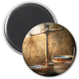 Lawyer - Scale - Balanced law Refrigerator Magnet