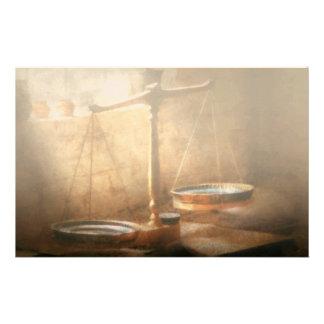 Lawyer - Scale - Balanced law Customized Stationery