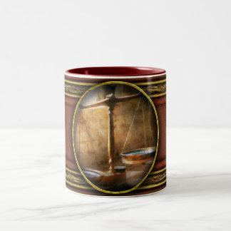 Lawyer - Scale - Balanced law Two-Tone Coffee Mug