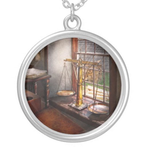 Lawyer - Scales of Justice Necklace