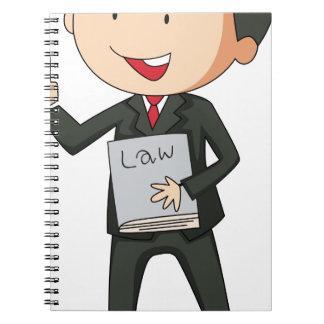 Lawyer Spiral Notebook