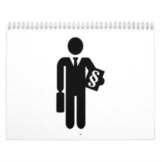 Lawyer symbol calendar