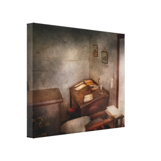 Lawyer - The Law office Canvas Print