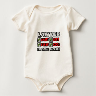 Lawyer ... The Total Package Baby Bodysuit