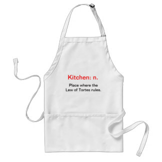 Lawyer-themed apron
