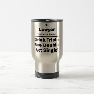 lawyer travel mug