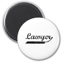 Lawyer typography magnet