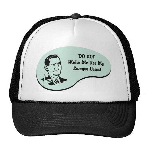 Lawyer Voice Trucker Hat