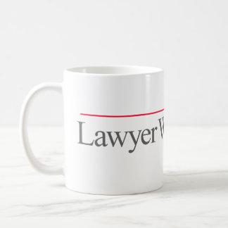 """LAWYER WITHOUT ADS"" -- COFFEE MUG"