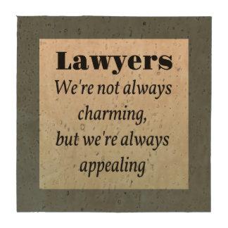 Lawyers, Always Appealing Beverage Coaster