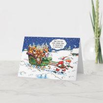 Lawyers Christmas Holiday Card