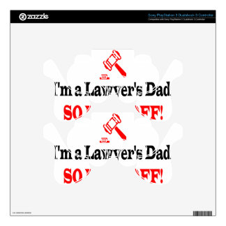 Lawyer's dad skin for PS3 controller