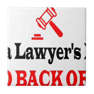 Lawyer's dad tile