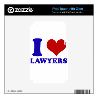 Lawyers design iPod touch 4G decal