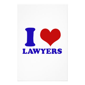 Lawyers design stationery