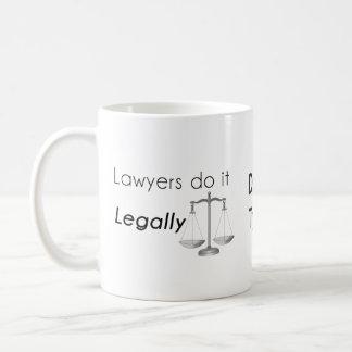 Lawyers do it! coffee mug