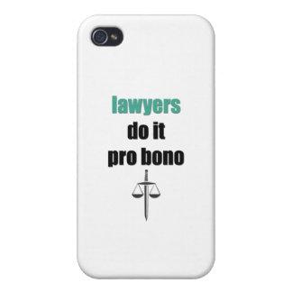 lawyers do it pro bono iPhone 4 cases