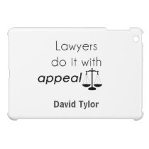 Lawyers do it with cover for the iPad mini
