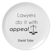 Lawyers do it with plate