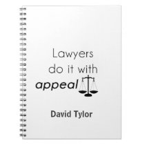 Lawyers do it with spiral notebook