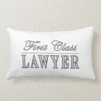 Lawyers First Class Lawyer Throw Pillow