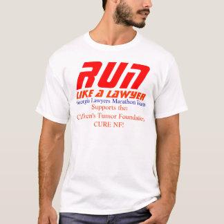 lawyers GA marathon team T-Shirt