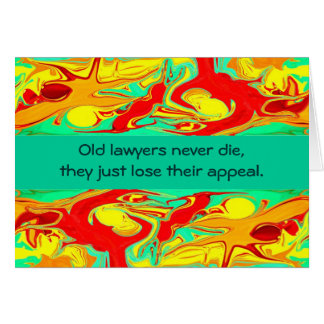 lawyers humor card