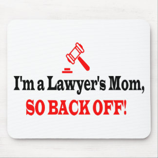 Lawyer's mom mouse pad