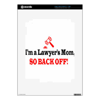 Lawyer's mom skins for iPad 2