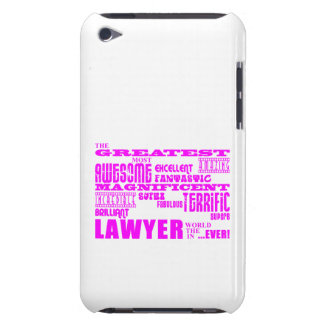 Lawyers : Pink Greatest Lawyer iPod Touch Case