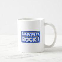 Lawyers Rock! Coffee Mugs