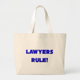 Lawyers Rule! Tote Bag