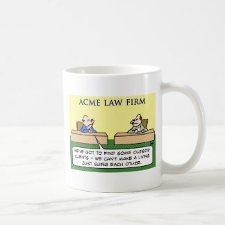 lawyers sue suing each other coffee mug