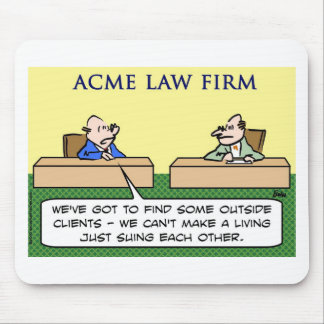 lawyers sue suing each other mouse pad