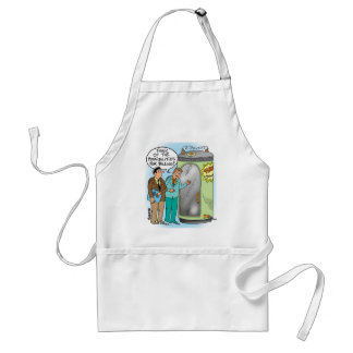 Lawyers Talk About Time Machine Adult Apron