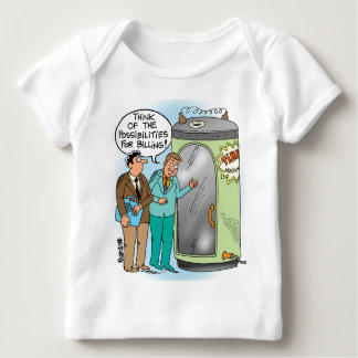 Lawyers Talk About Time Machine Baby T-Shirt