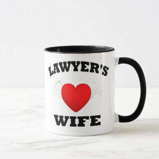 Lawyers Wife Mug