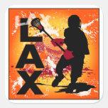 lax4 square sticker