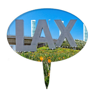 LAX Airport Sign Cake Topper