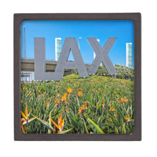 LAX Airport Sign Jewelry Box